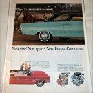 1965 American Motors Rambler Classic 770 2 dr ht car ad blue & black