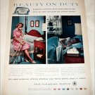 Bell Telephone Beauty On Duty ad