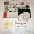 1955 Anchorglass 50th Anniversary ad