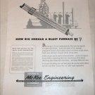 McKee Engineering Blast Furnace ad