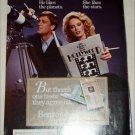 1985 Benson & Hedges 100's Cigarette ad