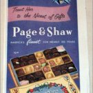 1958 Page & Shaw Par Excellence Chocolates Mothers Day ad