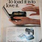 1968 Kodak Instamatic 104 Camera Loading ad