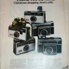 1968 Kodak Cameras Christmas ad