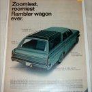 1966 American Motors Rambler Classic 770 CC 4 dr stationwagon car ad