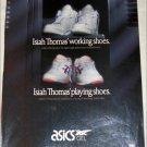Asics Isiah Thomas' Shoes ad