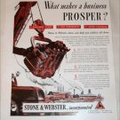 Stone & Webster Incorporated ad