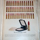 1964 Coty Duette Compact & Lipstick ad