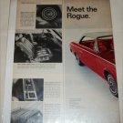 1966 American Motors Rambler American Rogue 2 dr ht car ad