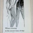 1957 Au Fait Danseuse Undergarment ad from Great Britain