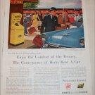 1955 Hertz Rent A Car ad