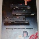 1979 Kodak Ektralite Cameras Christmas ad with Michael Landon