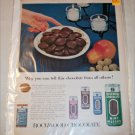 1953 Rockwood Chocolates ad