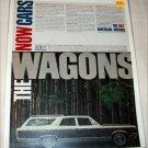 1967 American Motors Ambassador 990 4 dr stationwagon car ad