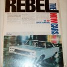1967 American Motors Rebel 2 dr ht car ad