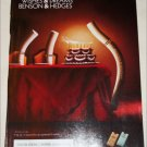 1998 Benson & Hedges 100's Cigarette ad