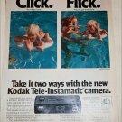 Kodak Tele-Instamatic Camera ad
