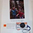 1991 Kodak Fun Saver Weekend 35 Camera ad