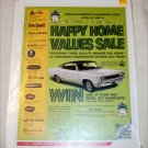 1967 Hardware-Houseware ad featuring 1967 American Motors Rebel SST 2 dr ht