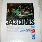 1967 American Motors Rambler American Rogue 2 dr ht car ad