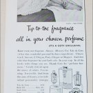 1956 Coty Perfume ad from Great Britain