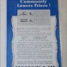 1940 Community Plate Silverware ad