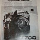 1983 Minolta X-700 Camera ad