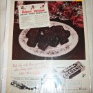 1950 Welch's Cocoanut Candy Bar ad