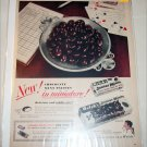 1950 Welch's Junior Mints Candy ad