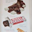 1956 Welch's Cocoanut Candy Bar ad