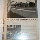 1968 American Motors AMX 5 page drive report