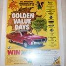 1968 Hardware-Houseware ad featuring American Motors Javelin