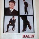 1993 Bally Clothing ad