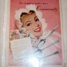 1948 Communitiy Silverware ad