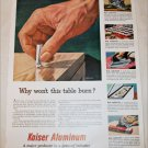 1952 Kaiser Aluminum Cigarette ad