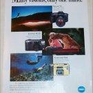 1993 Minolta Cameras ad