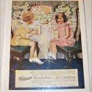 1925 Whitman's Wonderbox Candy For Children ad