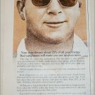 Bausch & Lomb Sunglasses ad featuring Arnold Palmer
