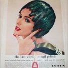 1958 Cutex Nail Polish ad