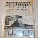 1924 Kreolite Wood Block Floors ad