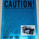 1995 Olympus Infinity Superzoom 3500 Camera ad