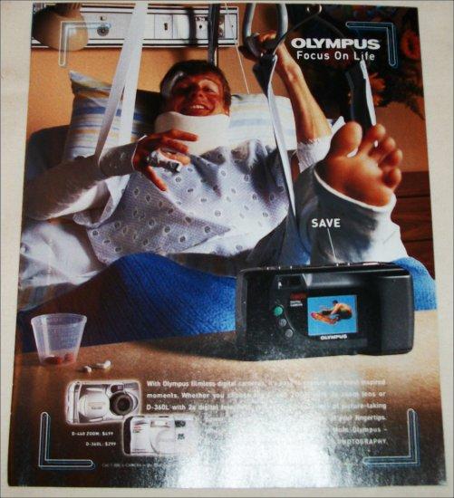 2000 Olympus Cameras ad