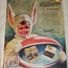 1935 Whitman's Candies Easter ad