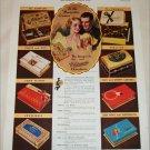 1936 Whitman's Candies ad