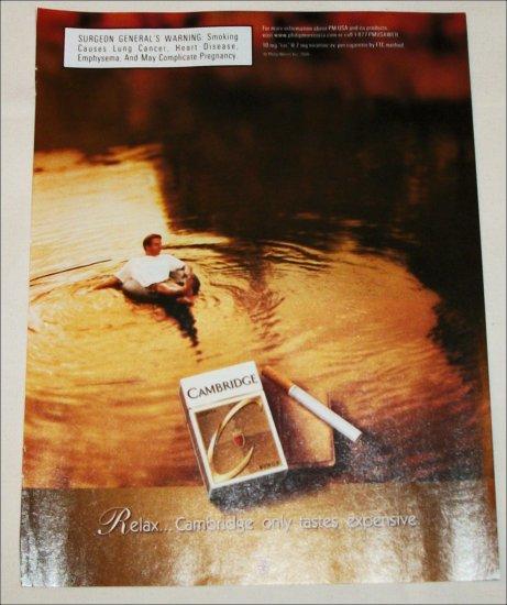 2000 Cambridge Cigarette ad #1