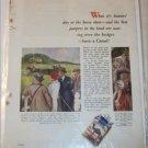 1936 Camel Cigarette ad