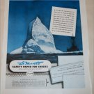 1948 La Monte Safety Paper for Checks ad