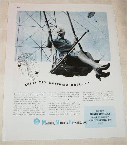 Magnus, Mabee, & Reynard Corporation She'll Try ad