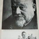 1958 Polaroid Land Camera ad featuring Burl Ives