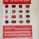1962 Whitmans Chocolate Peppermints ad